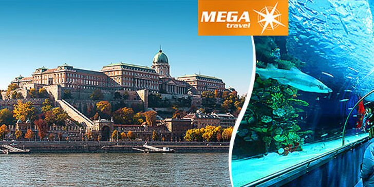 Deň plný zážitkov - Budapešť, Tropicarium a ZOO