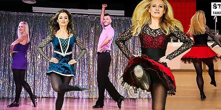 8 lekcií írskeho tanca v Bratislave
