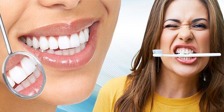Dentálna hygiena a ZOOM bielenie s originálnym ZOOM systémom
