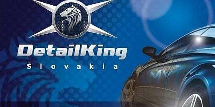 Dezinfekcia klimatizácie a interiéru vozidla ozónom v DETAILKING Slovakia