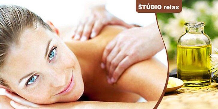 Exkluzívne masážne balíčky - Jarný detox a Antistres
