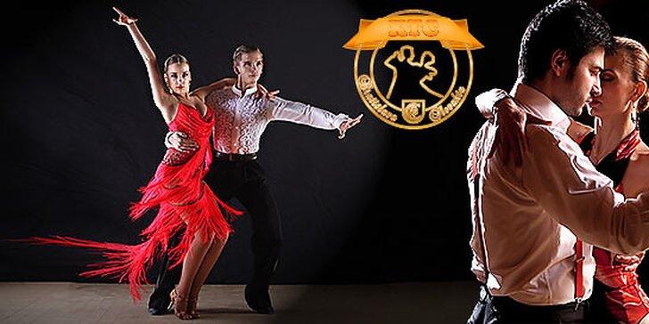 Kurz štandardných a latinsko-amerických tancov