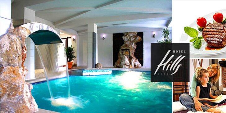Wellness pobyt v luxusnom Hoteli Hills**** s dieťaťom do 12 rokov zdarma