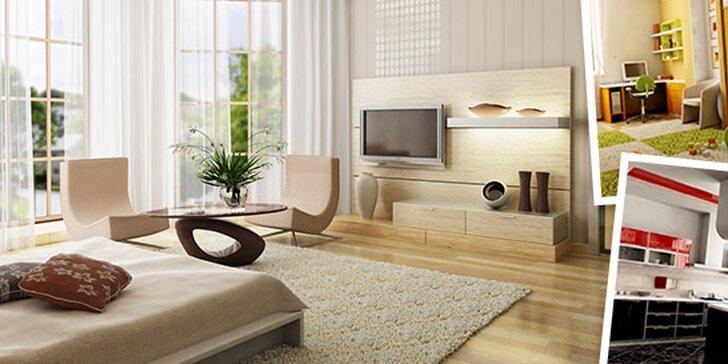 Návrh interiéru a tvorba 3D vizualizácie
