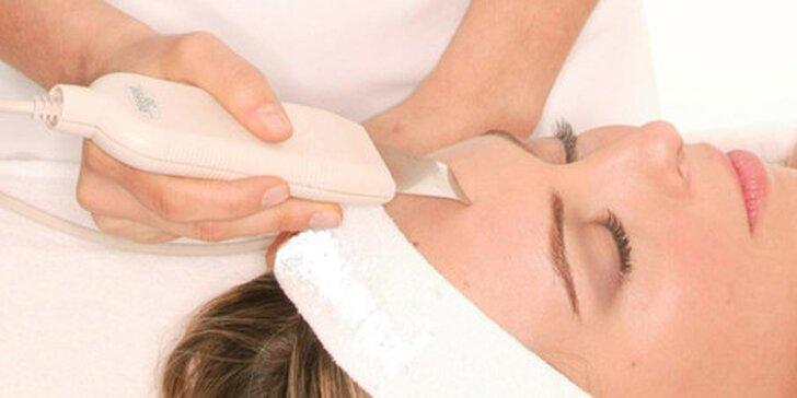 Čistenie pleti Skin scrubberom