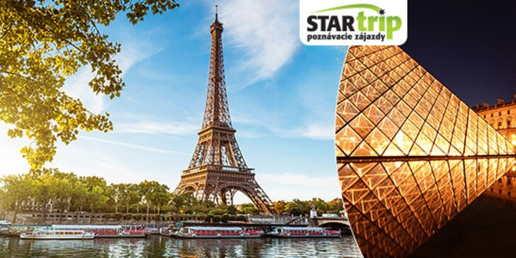 Spoznajte pamiatky Paríža so skúseným sprievodcom a s kvalitným hotelovým ubytovaním