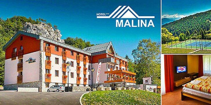 Aktívny relax v horskom hoteli Malina***