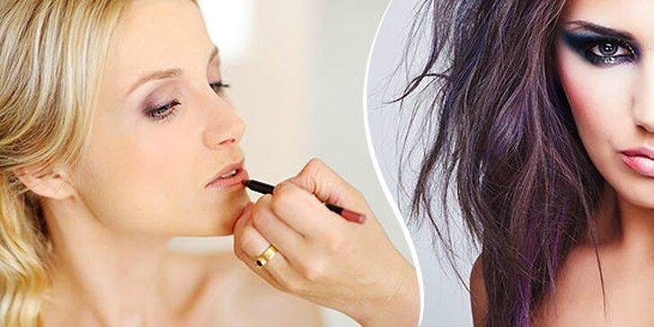 Permanentný make up obočia, pier alebo očných liniek
