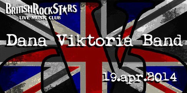DANA VIKTORIA BAND v British Rock Stars
