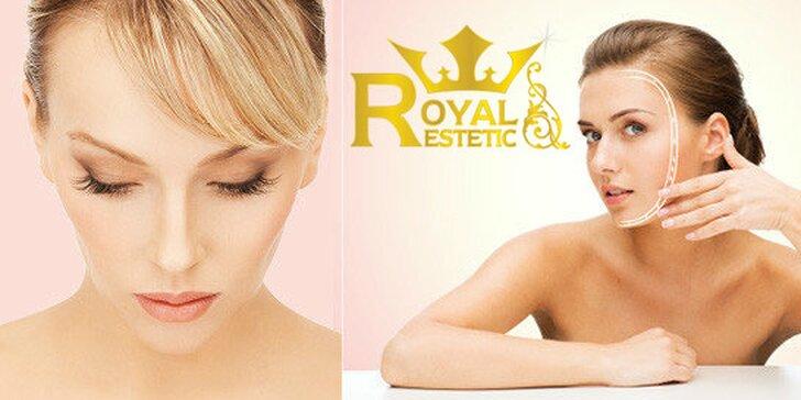 Okamžité omladenie a revitalizácia pleti - liftingové ošetrenie tváre v Royal Esthetic.