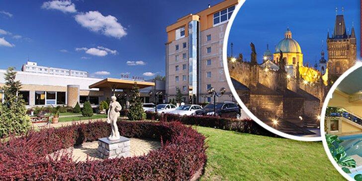 Wellness oddych v TOP HOTELI Praha**** + varianta: Dieťa do 8 rokov zdarma!