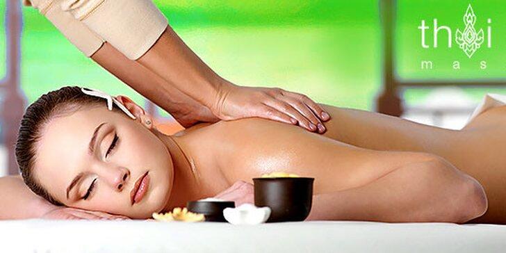 Thajská Aromatherapy a Herbal masáž (60 - 90 min.)