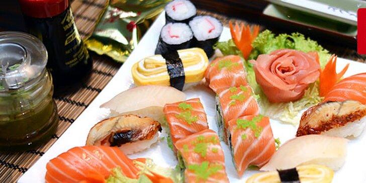 Obľúbený sushi set 10 alebo 20 kúskov