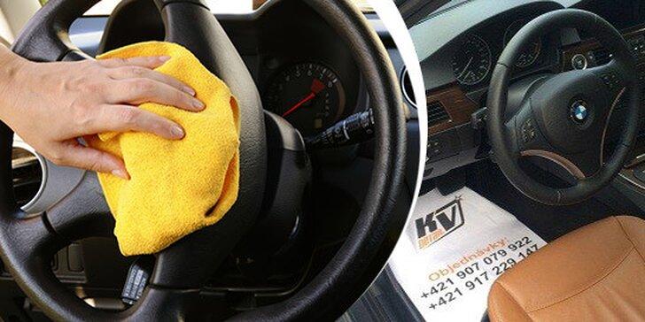 Dokonale čisté auto