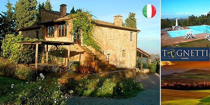 Talianska vášeň v tradičnej toskánkej vile