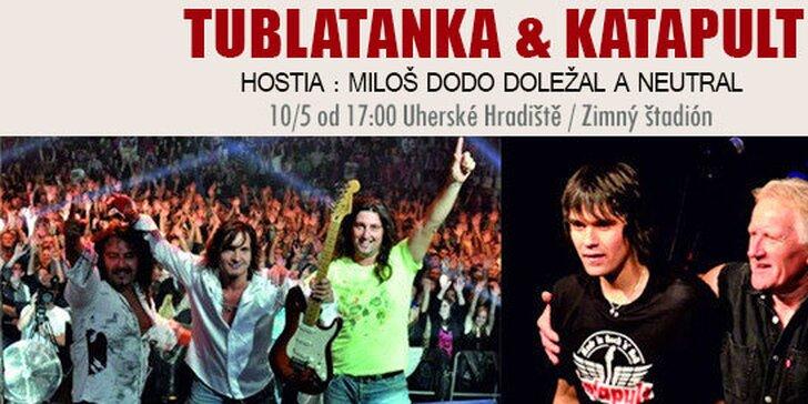 Koncert Tublatanky, Katapultu a ich hostí