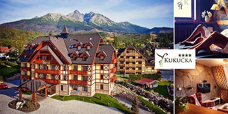 Luxusná relax dovolenka v Hoteli Kukučka**** so vstupom do Aquacity Poprad + dieťa do 15 rokov zadarmo