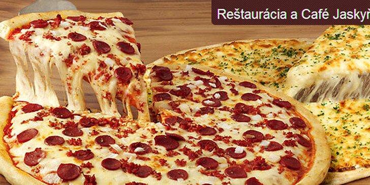 Chrumkavá PIZZA za polovicu