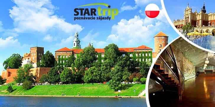 2-dňový poznávací zájazd do Krakova a Wieliczky