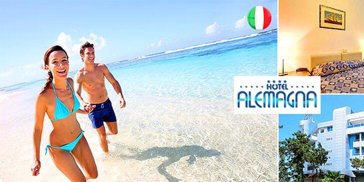 All Inclusive dovolenka pre 2 osoby v Bibione
