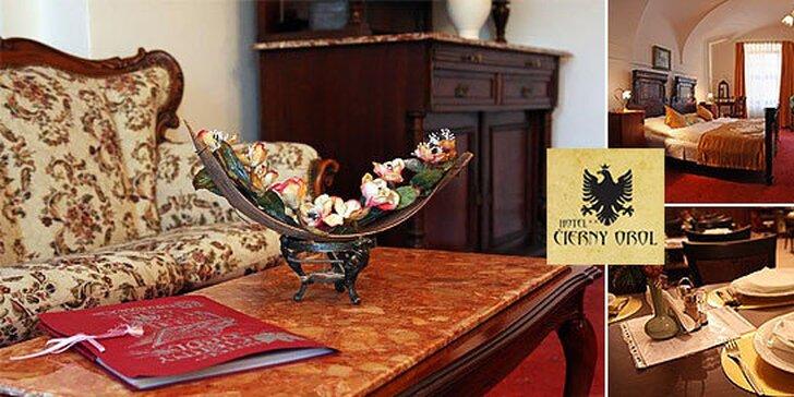 Rodinný pobyt v stredovekom Hoteli*** Čierny Orol v Rožňave s 2 deťmi do 15 rokov grátis