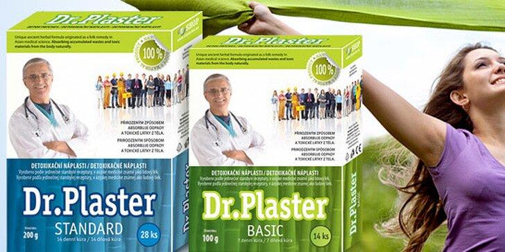 Detoxikačné náplasti Dr. Plaster podporujúce chudnutie 3+1 zadarmo