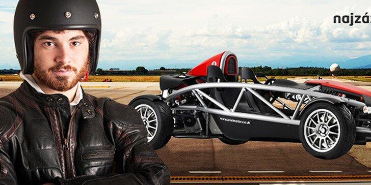 Jazda na jednom z najrýchlejších áut na svete