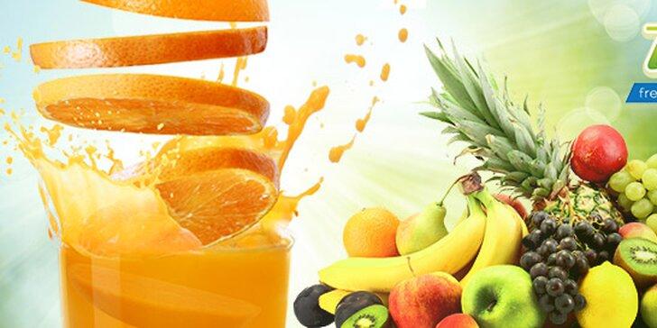 Čerstvé 100 % FRESH ovocné drinky vo VIObare v OC Cassovia