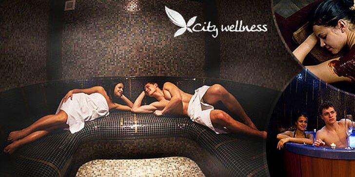 Vstup do City wellness 2 hod.