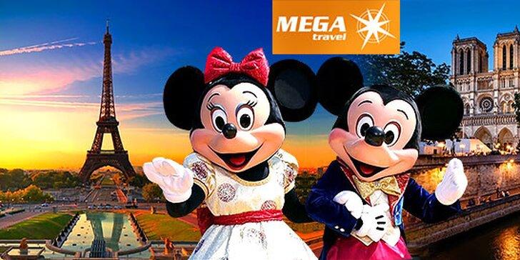 Čarovný Paríž a rozprávkový Disneyland