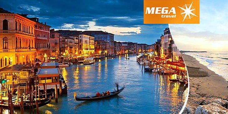 Benátky a leňošenie na pláži na 6 dní