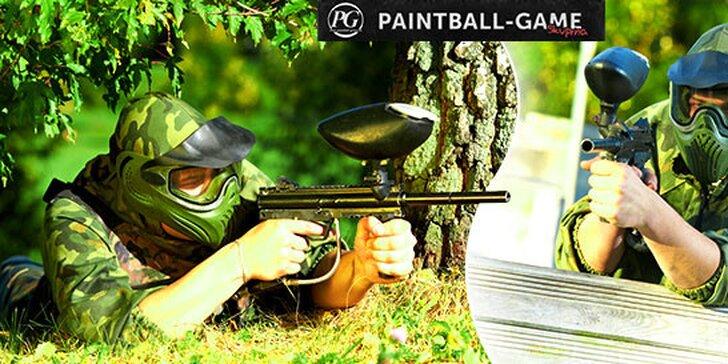 Paintball na 3 hodiny s kompletným výstrojom