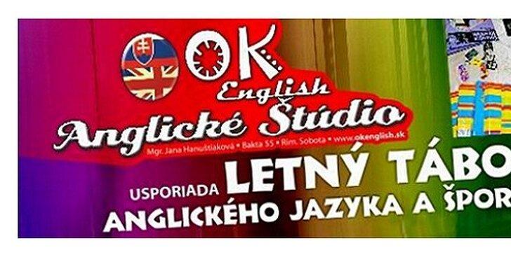 LETNÝ TÁBOR anglického jazyka a športu
