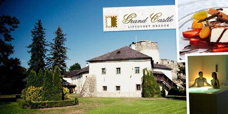 Romantické leto v zámockom hoteli Grand Castle