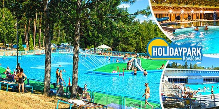 Celodenný vstup do Holidaypark Kováčová