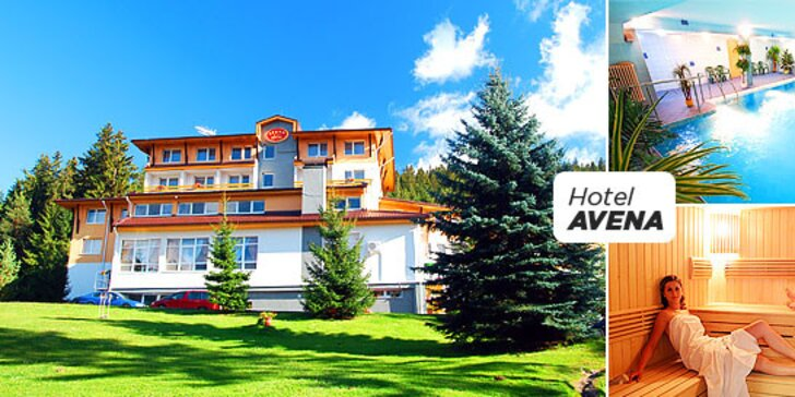 Rodinný wellness pobyt v Relax Hoteli*** Avena Jánska dolina