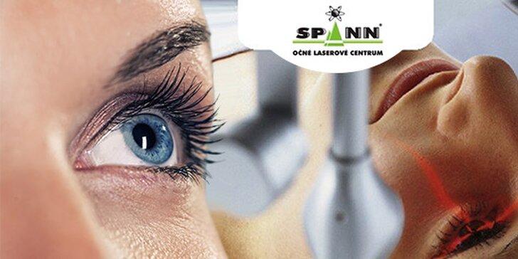 Úplne bezbolestná laserová operácia obidvoch očí špičkovou metódou s doživotnou zárukou