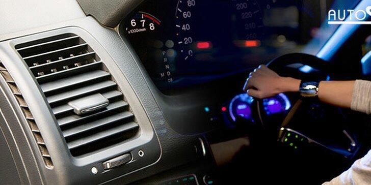 Čistenie a plnenie autoklimatizácie