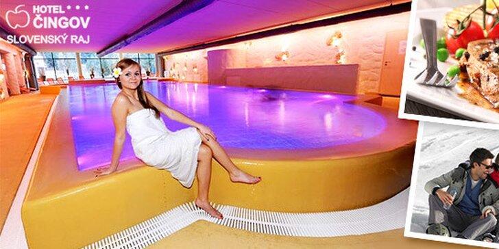 Hotel ČINGOV*** Skvelý Wellness pobyt v Slovenskom raji