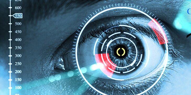 Laserová refrakčná operácia očí novým špičkovým excimerovým laserom a k tomu slnečné okuliare RAY-BAN zadarmo.