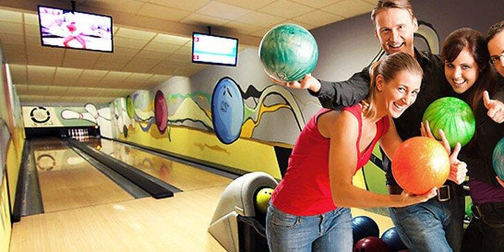 Zábavný bowling na 1 hodinu pre 1 celú partiu