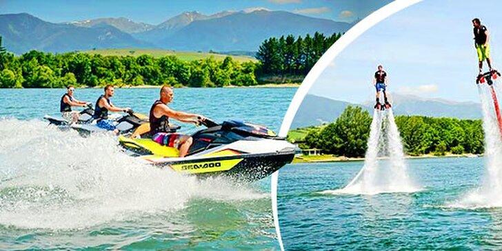 Vzrušujúce vodné športy v novootvorenom adrenalínovom centre na Liptovskej Mare