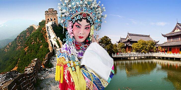 Poznávací zájazd do Číny