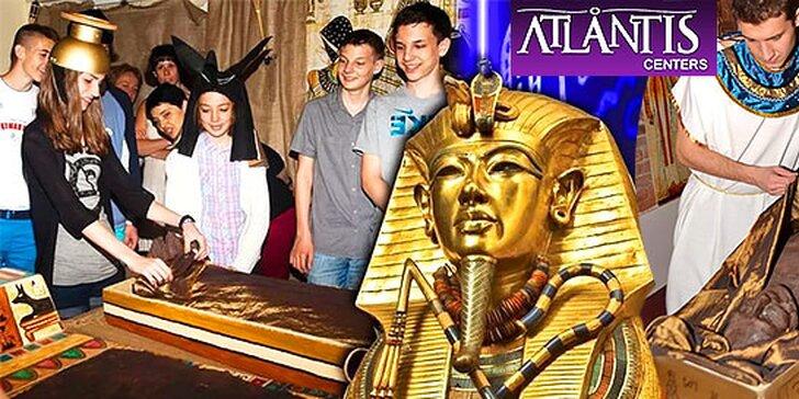 Odhaľte tajomstvo Tutanchamóna v centre Atlantis