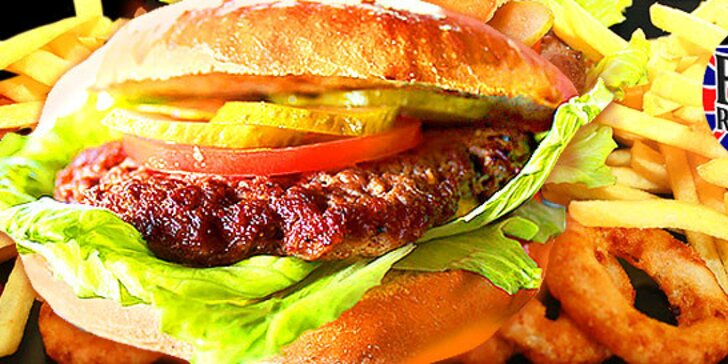 Nové hamburgery v British Rock Stars