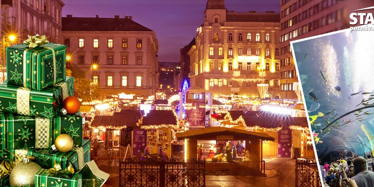 Adventný zájazd do Budapešti s možnosťou návštevy Tropicaria