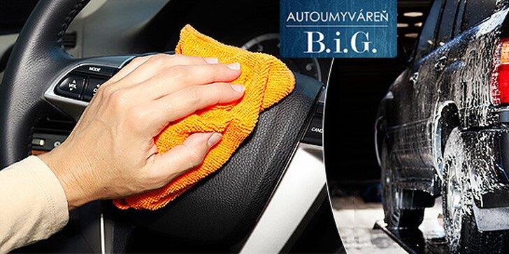 Kompletné umytie vášho automobilu