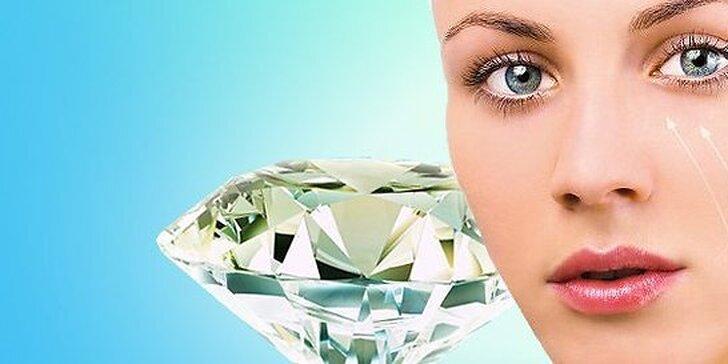 Komplexná diamantová mikrodermabrázia tváre