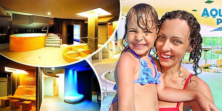 Super zábava v aquaparku Delňa na celý deň alebo na 4 hodiny - aj počas víkendu