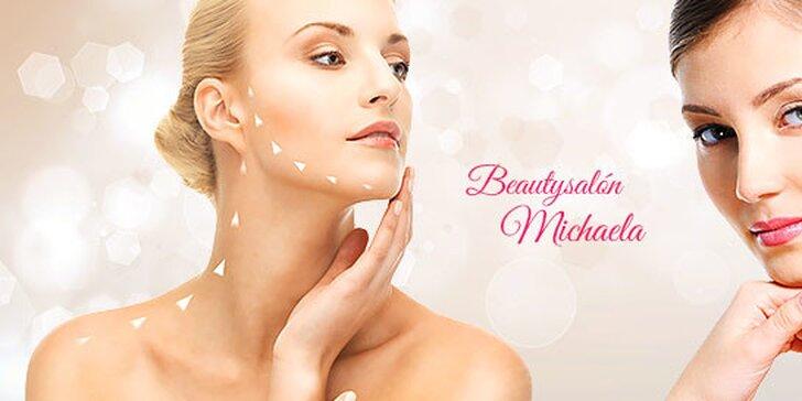 Ošetrenie pleti alebo protivrásková wellness masáž tváre a dekoltu